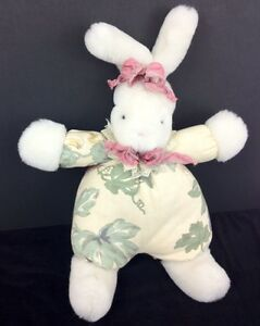 """1995 """"Bunnies by the Bay"""" Plush BUNNY Limited Edition #387 Krystal Suzanne"""
