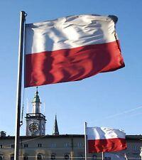 GIANT NATIONAL FLAG OF POLAND POLISH POLSKA