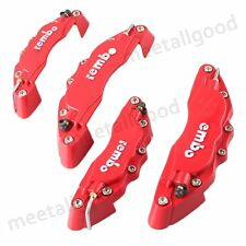 4PCS Front & Rear 3D Brake Caliper Cover Disc Kit fit Universal Car Truck