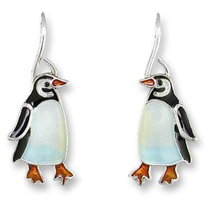 Little-Penguin-Silver-Earrings