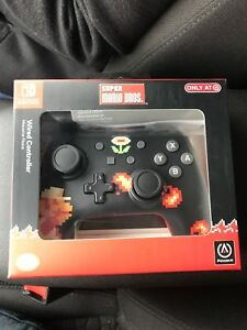 Details about Nintendo Switch Pro Controller 8bit Super Mario Target  Exclusive Power A wired