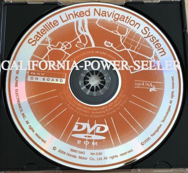 2003 2004 2005 Honda Accord & Acura TSX Navigation GPS DVD