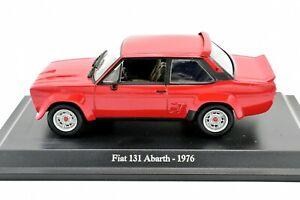 MODELLINO-AUTO-FIAT-131-ABARTH-RALLY-SCALA-1-43-DIECAST-MODELLISMO-COLLEZIONE