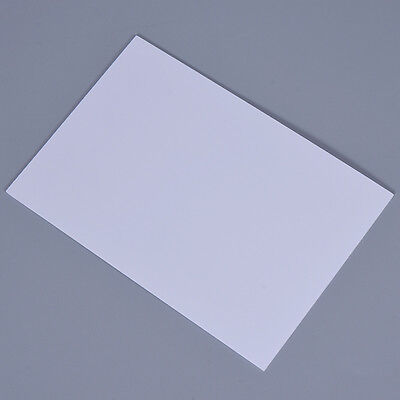 DIY Model White Sheet PVC DIY Sheet Foam Board Plastic 20x30cm Building Signs 1x