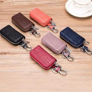 Women-Men-Key-Wallets-Crocodile-Fashion-Leather-Car-Remote-Key-Bag-Case-Holder