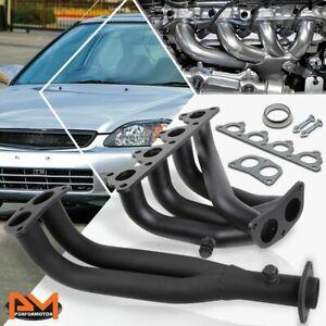 D-Series SOHC 4-2-1 Stainless Steel Manifold//Exhaust Header Honda Civic 88-00