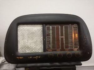 RADIO-A-VALVOLE-Libertar-FCD-102-Philips-5-1-valve-Milano-1949