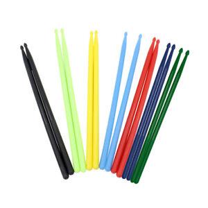 1-Pair-5A-Colored-Drumsticks-Nylon-Drum-Stick-Set-for-Beginner-Drummer