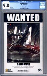 "Catwoman #35 Kael Ngu ""Wanted"" Variant  DC Comics 1st Print  CGC 9.8"