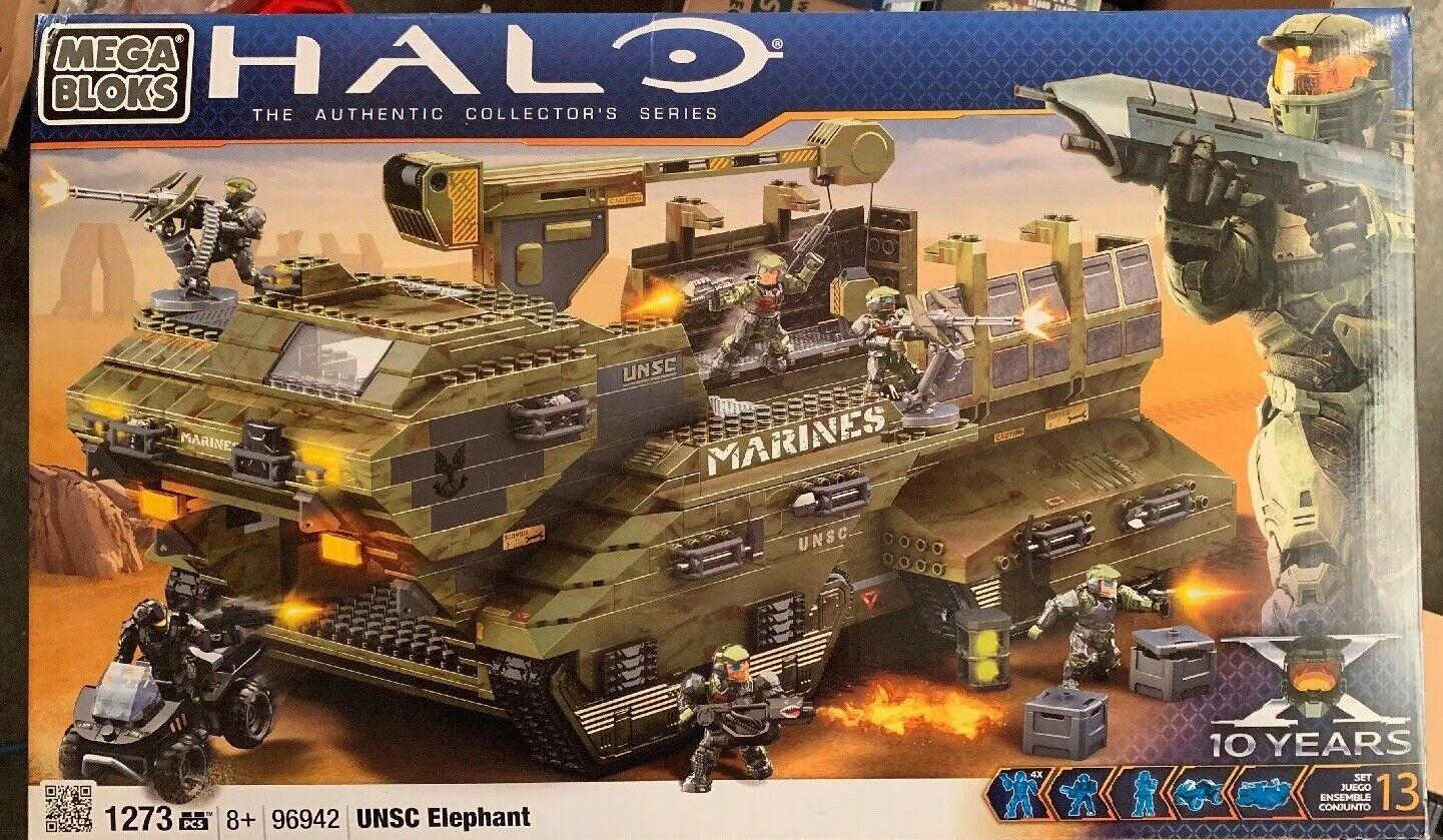 Halo Mega Bloks UNSC Elephant 96942