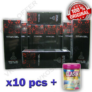 10x50 ml titan gel intimate lubricant gel for men genuine garanty
