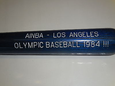 Adaptable Wood Louisville Slugger125-memorial Gadget Bat-los Angeles-olimpic Baseball 1984 Sports Mem, Cards & Fan Shop