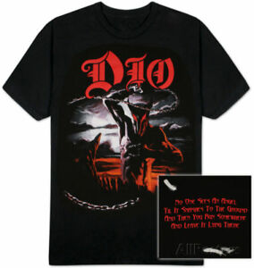 Image is loading DIO-HOLY-DIVER-T-shirt-Size-L-Large-