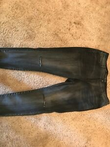 grisâtre Bryant slim Jean Lane mi taille noir taille 24 haute ZUO6wwIxPq