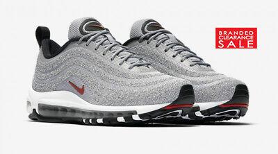 Nuevo Y En Caja Nuevo Nike Air Max 97 LX plata de bala de