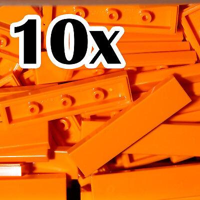 Black Tile x 25 smooth flat tile 1x4 TILES 1 x 4 NEW LEGO