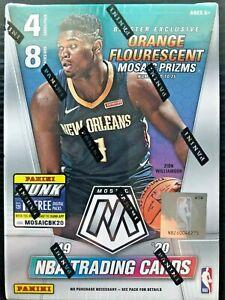 2019-20-Panini-Mosaic-Basketball-Blaster-Box-ZION-JA-MORANT-ROOKIE-chronicles