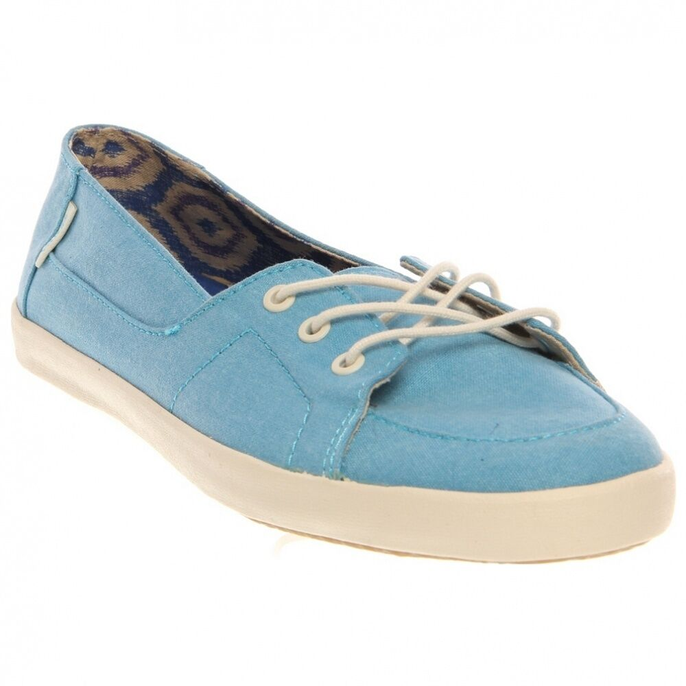 Vans Off the Wall Womens Surf shoes Palisades Vulc Distressed Teal Womens 9.5