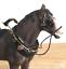 Shire-Cart-Heavy-Horse-in-harness-ornament-figurine-quality-Leonardo-gift-boxed miniatuur 5