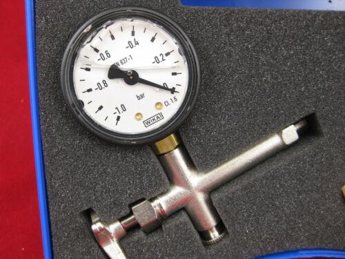 Pumpenprüfkoffer Glyzerin Ölbrenner Ölpumpe Öldüse Prüfkoffer Öl Brenner Pumpe
