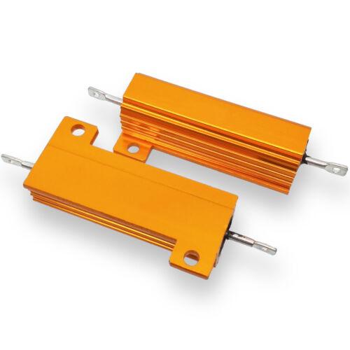4pcs 2K ohm 2K 50W Watt Aluminum Housed Metal Case Wirewound Resistors