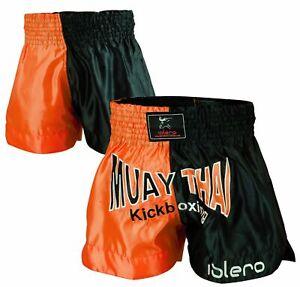 EVO Muay Thai Fight Shorts MMA Kick Boxing Cage Fighting Martial Arts Gear UFC