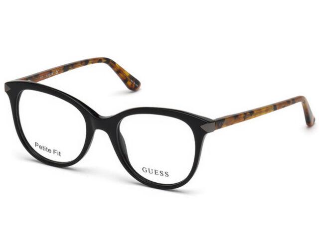 843b38f4779 GUESS GU 2667 001 52mm Shiny Black Optical Eyeglasses Frames for ...