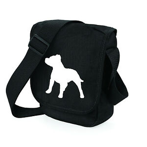 Staffordshire-Bull-Terrier-Dog-Walkers-Shoulder-Bags-Birthday-Gift-free-UK-Post