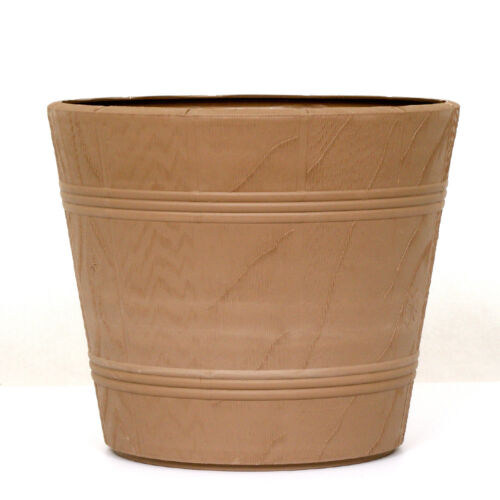 Fiori Vaso Fioriera in plastica Elba 15cm-42cm Beige