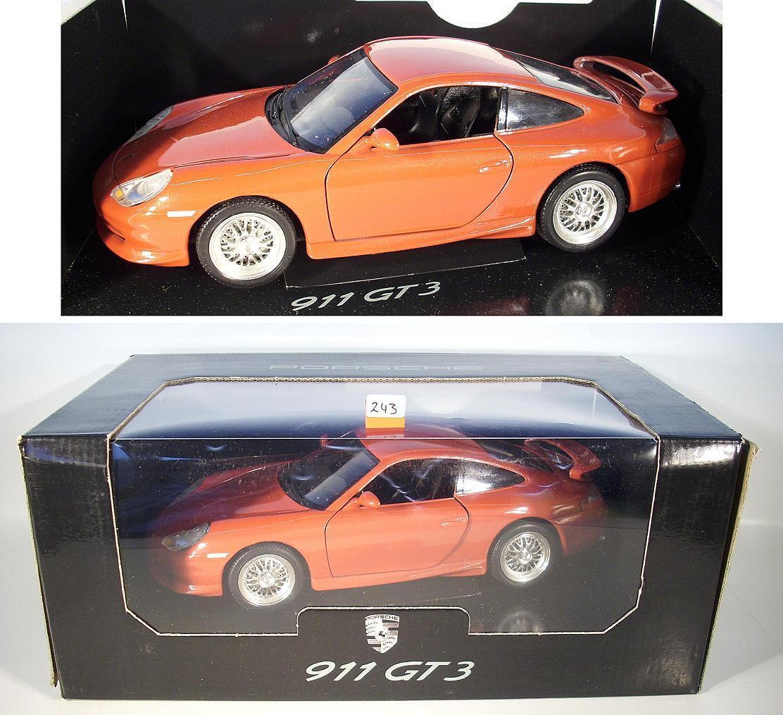 Bburago 1 18 Porsche 911 GT 3 Red OVP