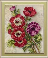 """Counted Cross Stitch Kit MP Studio PK-500 /""""Barefoot in the snow/"""""""