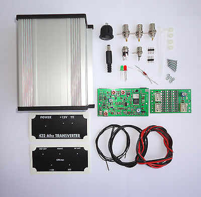 432 to 28 MHz TRANSVERTER  KIT 70cm 432mhz 433mhz 435 436 VHF UHF Ham Radio DX