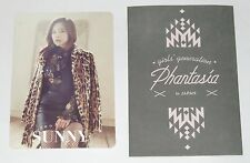 SNSD Girls' Generation SUNNY 4th Japan Tour Phantasia Official Photo Card