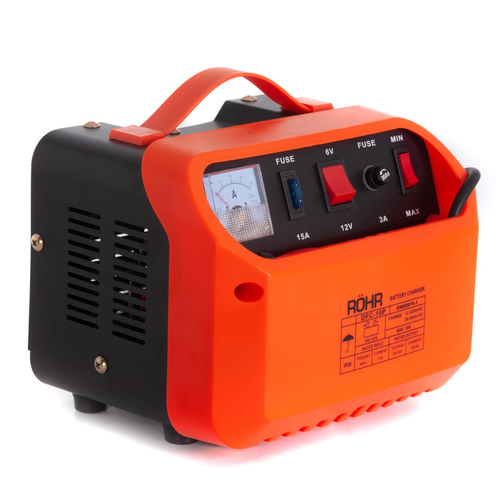 ARCOLL 57317 Chargeur de Batterie 6//12 V 12 A
