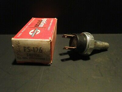 NOS Chevrolet Buick Oldsmobile Pontiac GMC Oil Pressure Switch Delco GM 10002798