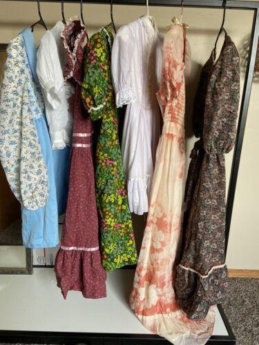 Vintage Cottagecore Prairie Dress 7pc Lot Gunne Sa