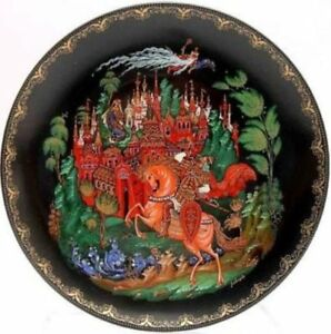 NEW-12-pc-THE-RUSSIAN-LEGENDS-Collector-Plate-Set-w-COA
