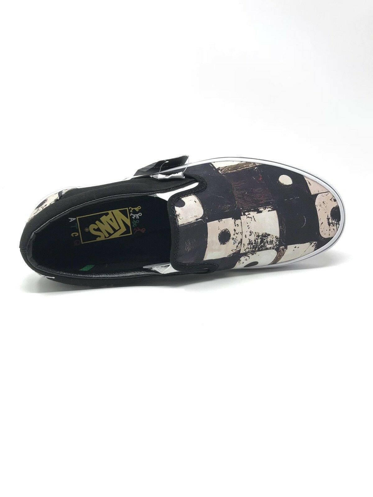 Vans A A A Tribe Called Quest Classic Slip On Uomo 10 Skate scarpe nero New ATCQ d5e659