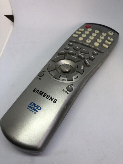 Genuine Original Samsung DVD Remote Control AH64-50361A DVD-909 Silver