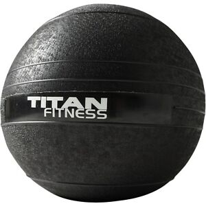 Titan-Fitness-10-60-lb-Slam-Spike-Ball-Rubber-Exercise-Weight-Workout