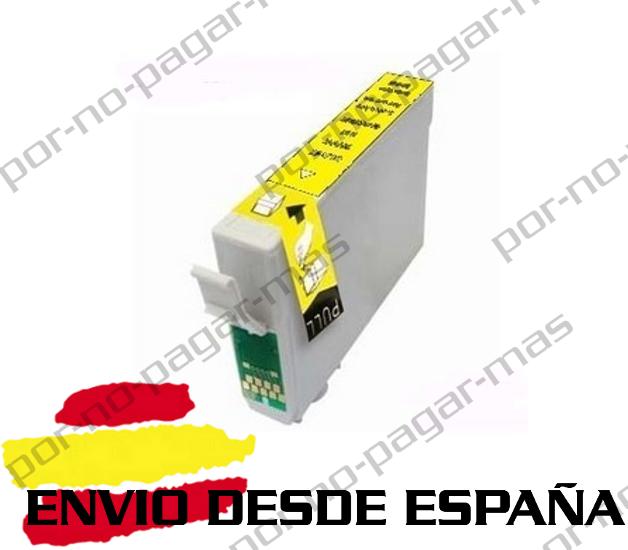 1 CARTUCHO COMPATIBLE AMARILLO NonOem PARA EPSON STYLUS SX438W S22 T1285