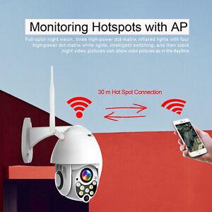 Outdoor-Waterproof-WiFi-PT-Pan-Tilt-1080P-HD-Security-IP-IR-Camera-Night-Vision