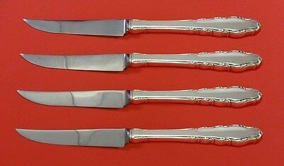 English Provincial By Reed & Barton Sterling Silver Steak Knife Set 4pc Hhws Other Antique Furniture