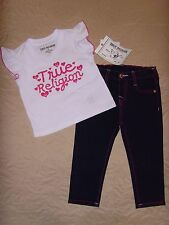 a93616c1c item 5 NEW TRUE RELIGION BABY GIRLS OUTFIT 2PC GIFT SET JEANS & TEE T-SHIRT  SIZE -12M -NEW TRUE RELIGION BABY GIRLS OUTFIT 2PC GIFT SET JEANS & TEE  T-SHIRT ...
