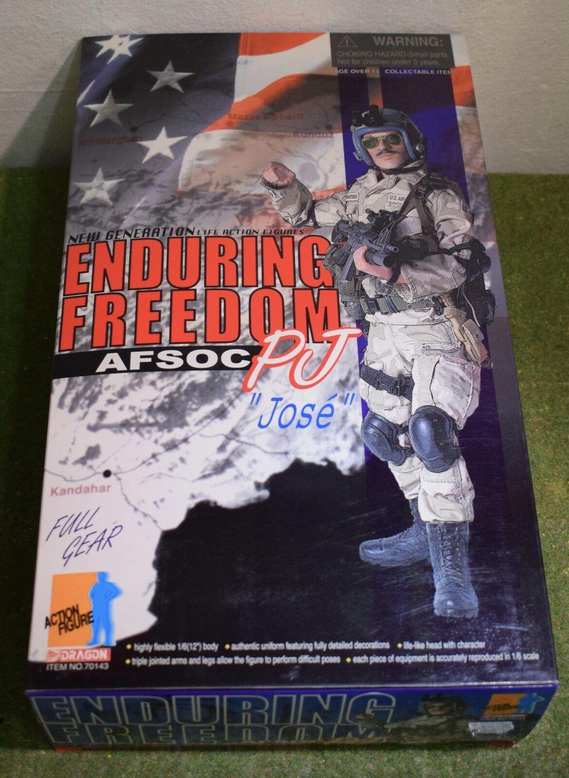 DRAGON 1 6 SCALE MODERN US PJ JOSE 70143 AFSOC ENDURING FREEDOM