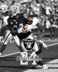 Oakland Raiders BO JACKSON Spotlight Photo 8x10 #1