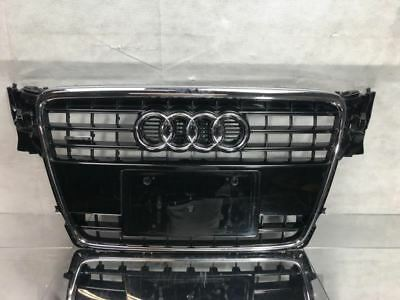 NEW AUDI A4 B8 2008-2011 FRONT BUMPER CENTER MAIN GRILLE WITH CHROME SURROUND