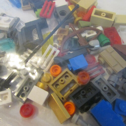 Weapons more 100 CLEAN Small Lego Pieces Bricks Parts Tiny Detail Caps