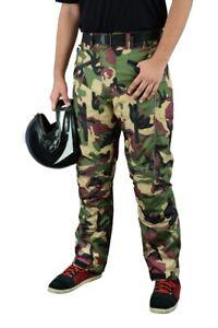 Motorbike-Motorcycle-Waterproof-Cordura-Textile-Trousers-Pants-CE-Armours-CAMO