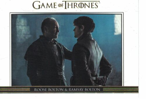 Game of thrones saison 6 Six Relationships Gold dl36 #250